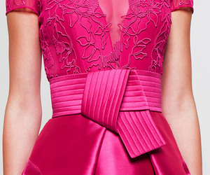 dress, hot pink, and textures image