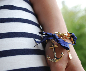 anchor, navy, and stripes image