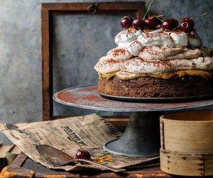 cake and cherries image