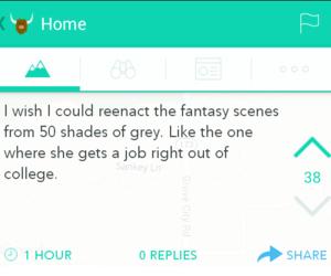 funny, 50 shades of grey, and job image