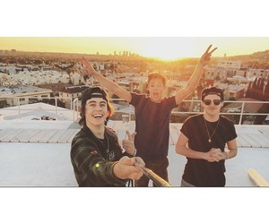 nash grier, cameron dallas, and aaron carpenter image