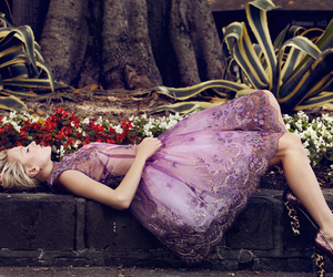 fashion, dress, and purple image