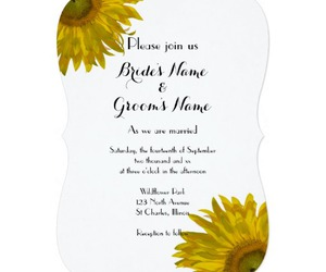 floral, wedding invitations, and flowers image