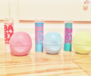 eos, makeup, and chapstick image