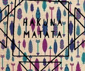 hakuna matata, background, and colors image