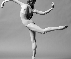ballerina, contemporary dance, and dance image