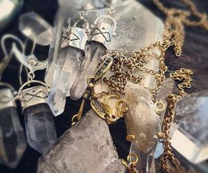 crystal, magic, and quartz image