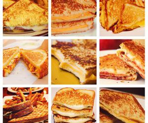 grilled cheese, nice, and foodlove image