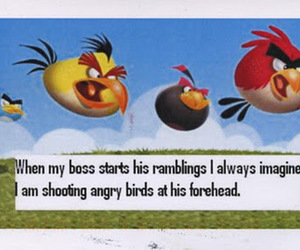 boss, funny, and mad image