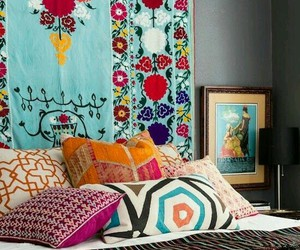 decor, interiors, and bohemian image