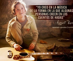 music, august rush, and quote image