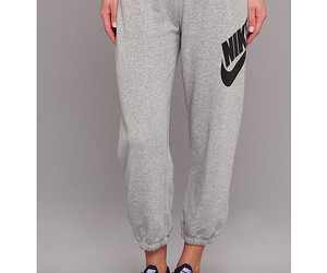 nike, womens, and casual pants image