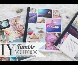 notebook, school, and cute image