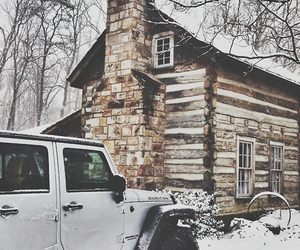 cabin, home, and car image