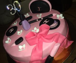 cake, flower, and fondant image