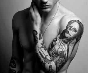 bad boys, tattos, and tumblr image