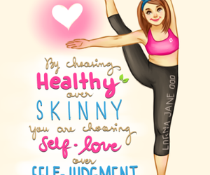 fitness, healthy, and fit image