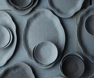 plates, art, and Ceramic image