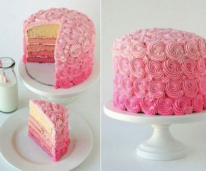 art, awesome, and pink cake image