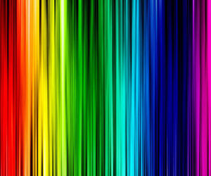 colourful, lines, and rainbow image