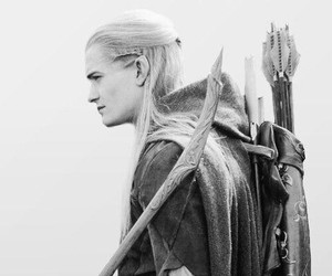 Legolas, orlando bloom, and LOTR image