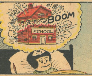 school, boom, and Dream image
