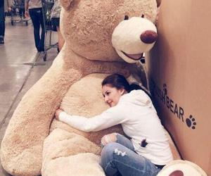 big, cute, and teddy bear image