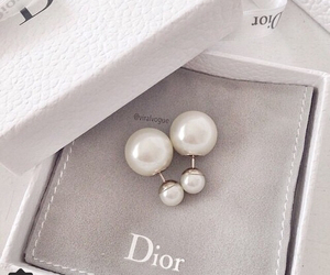 dior, earrings, and jewellery image