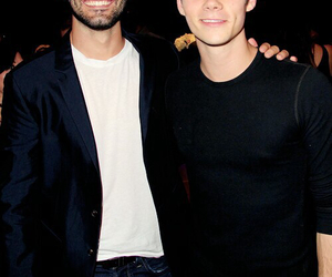 dylan o'brien, tyler hoechlin, and teen wolf image