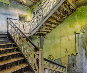 abandoned, mansion, and urban decay image