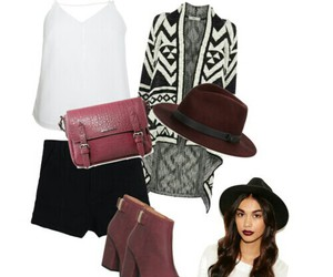 fashion, bohemian, and boots image