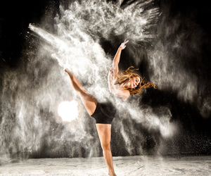 contemporary, dancer, and dust image
