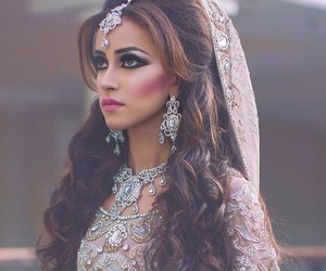 bride, muslim, and pakistani image