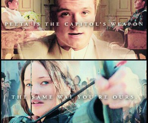 capitol, katniss, and peeta image