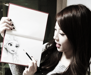 yura, girl's day, and frozen image