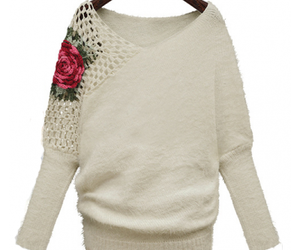 girls unique sweaters, designer winter sweaters, and trendy winter tops image