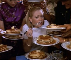 pancakes, sabrina, and sabrina the teenage witch image