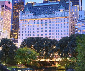city, hotel, and new york image