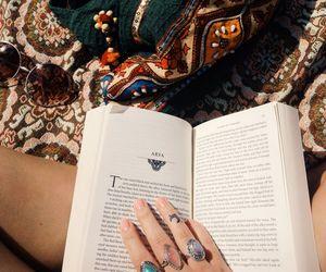 book, boho, and grunge image