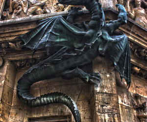 dragon, architecture, and germany image