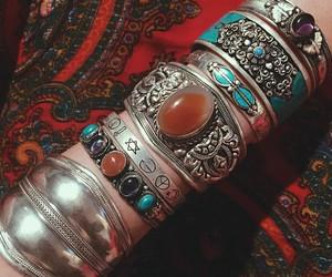 antique, bangles, and boho image