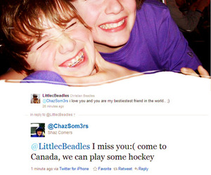 justin bieber, christian beadles, and chaz somers image