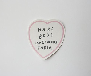 boys, love, and feminism image