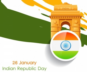 india, indian republic day, and january 26 image