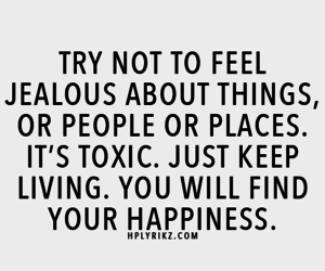 quotes, happiness, and jealous image