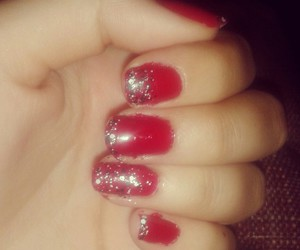 glitter, nails, and cute image