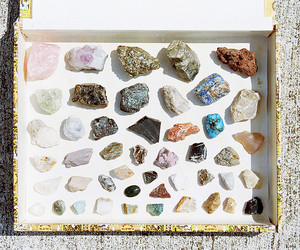 crystal, stone, and rock image