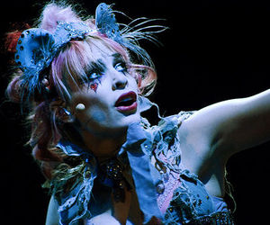 concert, veronica varlow, and Emilie Autumn image