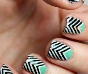 beautiful, nails art, and beauty image