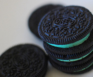 dessert, food, and oreos image
